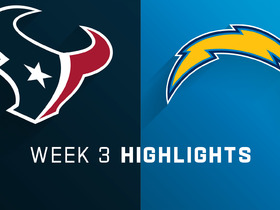 Texans vs. Chargers highlights | Week 3