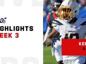 Keenan Allen's best catches from 2-TD game | Week 3