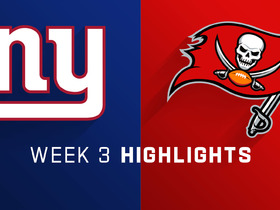 Giants vs. Buccaneers highlights | Week 3