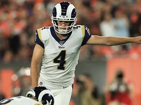 Greg Zuerlein shanks 48-yard FG attempt