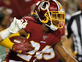 Josh Norman gets UP for key goal-line interception