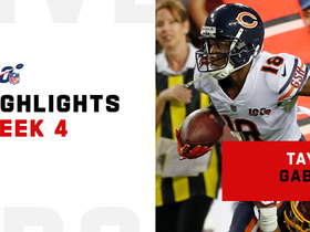 Every Taylor Gabriel catch on 'MNF' | Week 3
