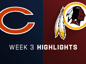 Bears vs. Redskins highlights | Week 3