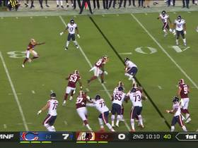 Mitchell Trubisky rushes for 1-yard vs. Redskins