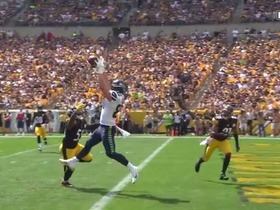 Will Dissly's best plays against the Steelers, Saints
