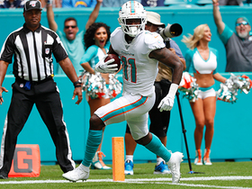 DeVante Parker burns Bolts' secondary to haul 34-yard TD pass from Rosen