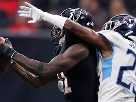 Julio Jones becomes fastest WR to 11K receiving yards on slick catch