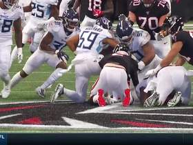 Jurrell Casey fights through O-line to strip sack Ryan