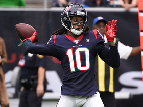 Can't-Miss Play: DeAndre Hopkins throws ill-advised INT on Texans' trick play