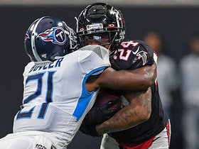 Titans stuff Devonta Freeman on fourth down