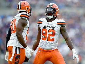 Browns recover after Mark Ingram coughs up the football for key turnover