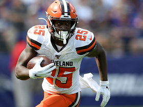 Dontrell Hilliard rumbles through for another Browns' rushing TD