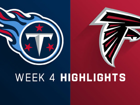 Titans vs. Falcons highlights | Week 4