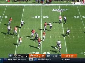 Flacco rolls left to find Emmanuel Sanders for 13-yard diving catch