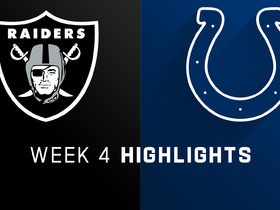 Raiders vs. Colts highlights | Week 4