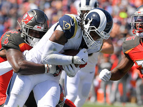 Todd Gurley BULLDOZES through Bucs defenders on physical TD run