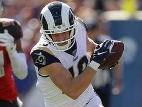 Jared Goff delivers sideline dime to Cooper Kupp for 24 yards