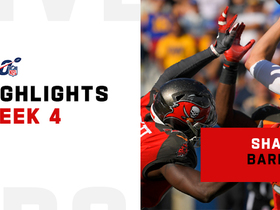 Best plays from Shaquil Barrett's big day | Week 4