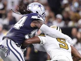 Jaylon Smith comes up with critical sack to move Saints out of FG range