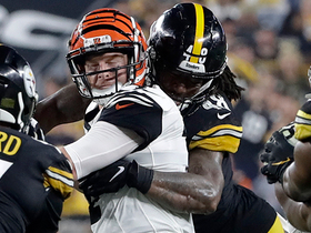 Bud Dupree smokes Andre Smith off the edge for quick strip-sack