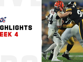 Every one of Steelers' 8 sacks vs. Bengals | Week 4