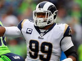 Aaron Donald resembles freight train on speedy QB hurry