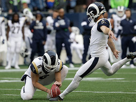 Zuerlein boots 47-yard FG to get Rams on the board