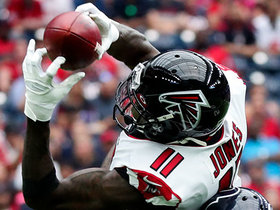 Julio Jones goes WAY UP for soaring snag