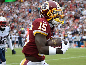 Can't-Miss Play: Redskins rookie slithers through swarm of Pats for 65-YARD TD