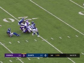 Vikings O-line paves way for Mattison's 22-yard burst up middle
