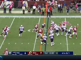 Redskins sniff out Pats' trick play for key fourth-down stop