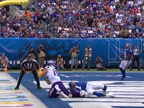 Can't-Miss Play: Thielen's monster day continues with SECOND acrobatic TD