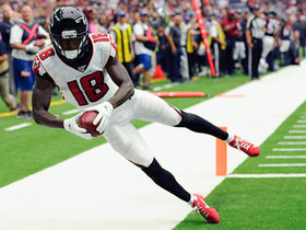 Calvin Ridley tightropes sideline, taps toes for 29-yard TD