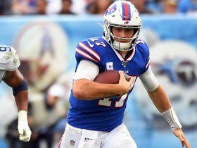 Josh Allen's first down run seals game for Bills