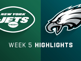 Jets vs. Eagles highlights | Week 5