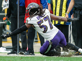 Humphrey's spectacular forced fumble and recover comes at critical time for Ravens' D