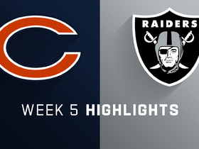 Bears vs. Raiders highlights | Week 5