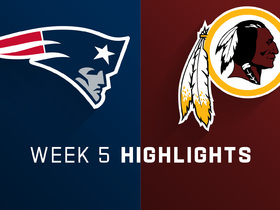 Patriots vs. Redskins highlights | Week 5