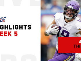 Every Adam Thielen catch against the Giants | Week 5