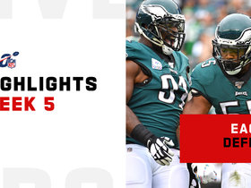 All 10 sacks by the Eagles defense | Week 5