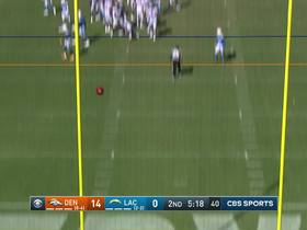 Brandon McManus drills 40-yard FG