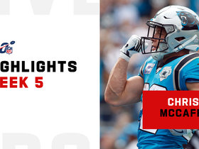 Christian McCaffrey's best plays from 200+ yard, 3-TD game | Week 5