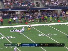 Robert Quinn gets late hit on Rodgers resulting in penalty
