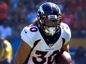Phillip Lindsay breaks free for 15-yard run