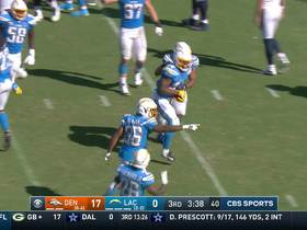 Tip drill! Romo gets HYPED for Chargers' spectacular INT