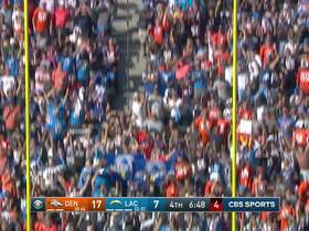 Chase McLaughlin makes first career FG to cut Broncos lead to seven