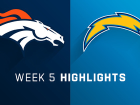 Broncos vs. Chargers highlights | Week 5