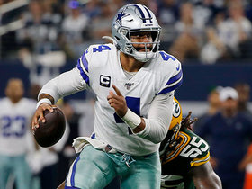 Dak Prescott tucks it and runs for 14 yards