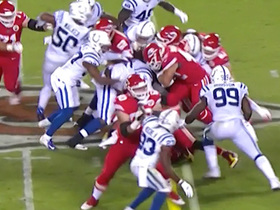 Anthony Sherman bullies through Colts defense on fourth-and-1