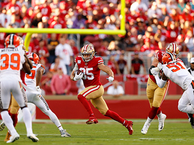 Handoff to ... George Kittle? 49ers make it work on 18-yard play